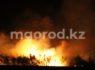 Труп мужчины нашли в сгоревшем вагончике в степи ЗКО