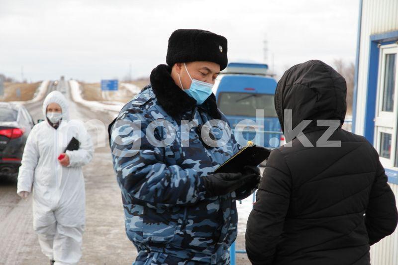 Блокпосты установили в Атырауской области Как работают санитарные посты в Уральске (фото, видео)