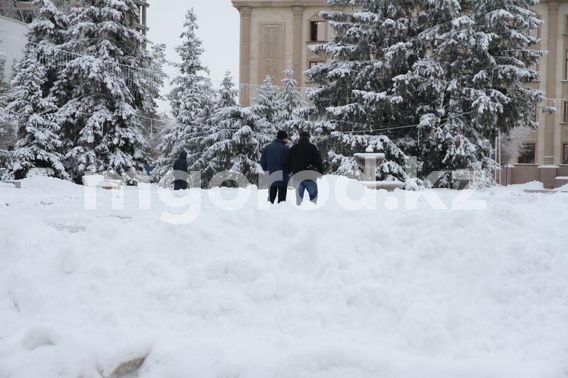 Метель ожидается в ЗКО Погода на 30 декабря