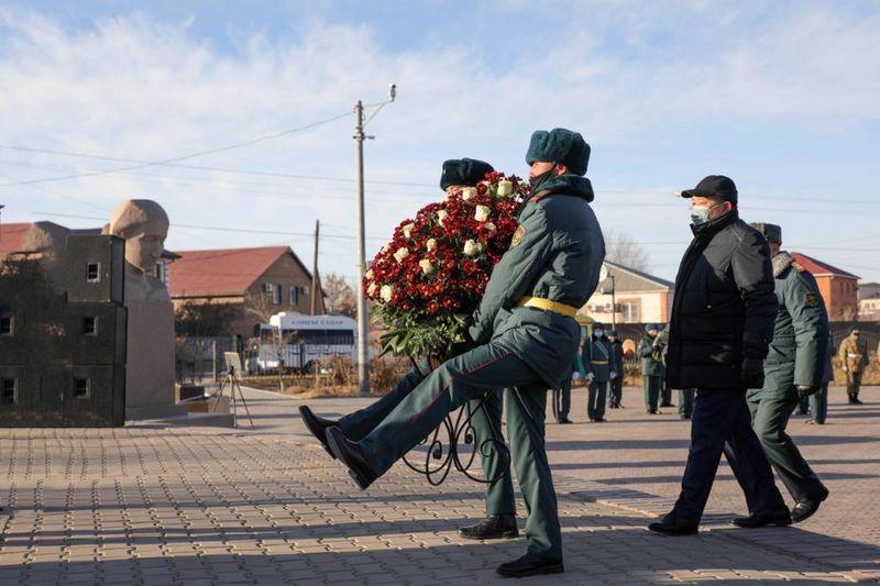Останки атырауского солдата вернули на родину спустя 80 лет Останки атырауского солдата вернули на родину спустя 80 лет