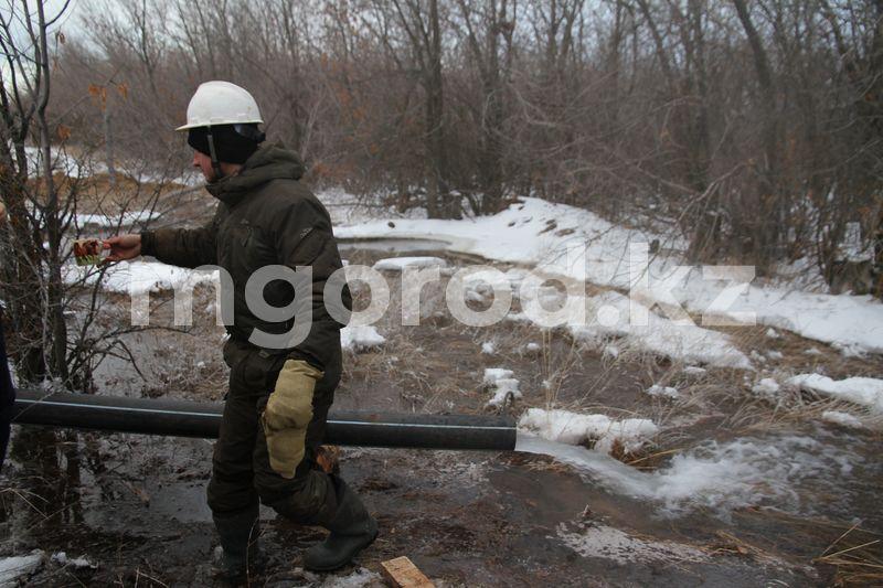 Вблизи Уральска обновляют скважины, чтобы сохранить воду в Урале Проблем с водой в городе не будет - замакима ЗКО