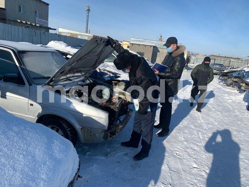 В Актобе чаще всего похищают авто российского производства В Актобе в основном похищают авто российского производства