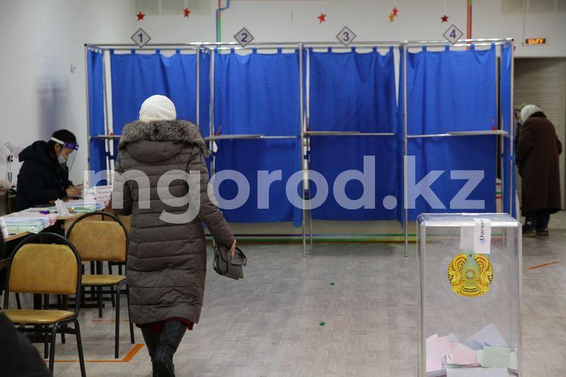 """Данные экзитпол: партия Nur Otan победила на парламентских выборах-2021, в мажилис прошли также НПК и """"Ак жол"""" Явка избирателей в ЗКО составила 47,5%"""