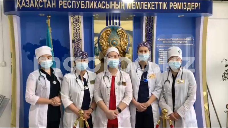 Медики Атырау запустили челлендж ко Дню благодарности Медики Атырау запустили челлендж ко Дню благодарности