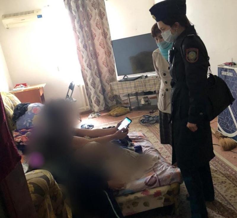 23 подростка задержали в ночное время в Атырау 89 неблагополучных семей состоят на учете в полиции Атырау