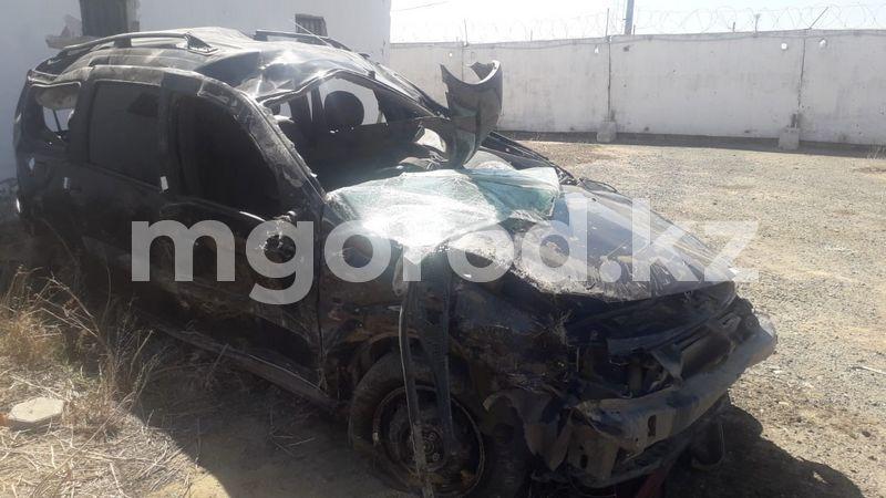 Машина опрокинулась в кювет в Актюбинской области. Погиб мужчина Машина опрокинулась в кювет в Актюбинской области. Погиб мужчина
