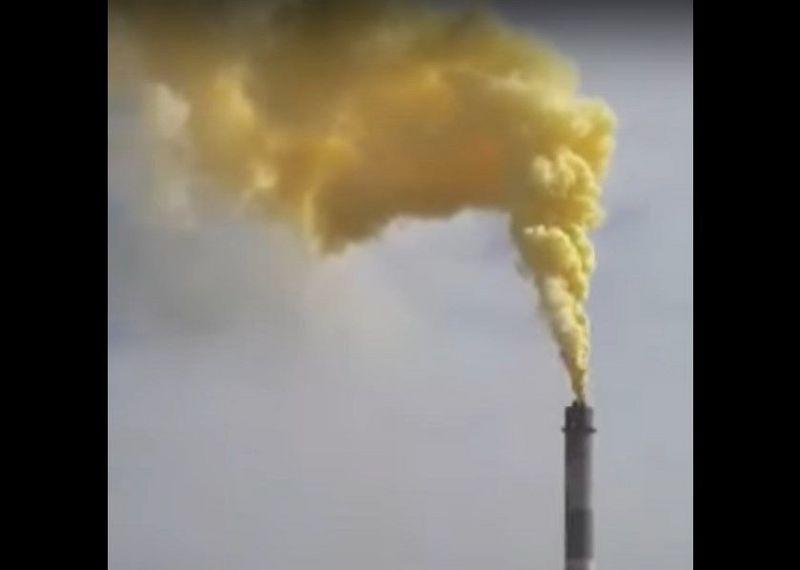 Выброс загрязняющих веществ произошел на Тенгизе (видео) Выброс загрязняющих веществ произошел на Тенгизе