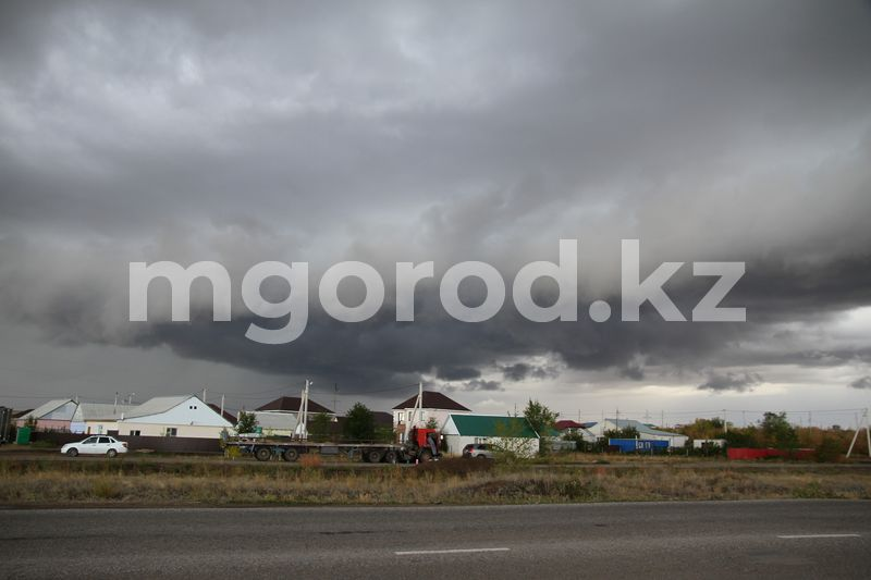 Дождь с грозой прогнозируют в ЗКО Дождь с грозой прогнозируют в ЗКО