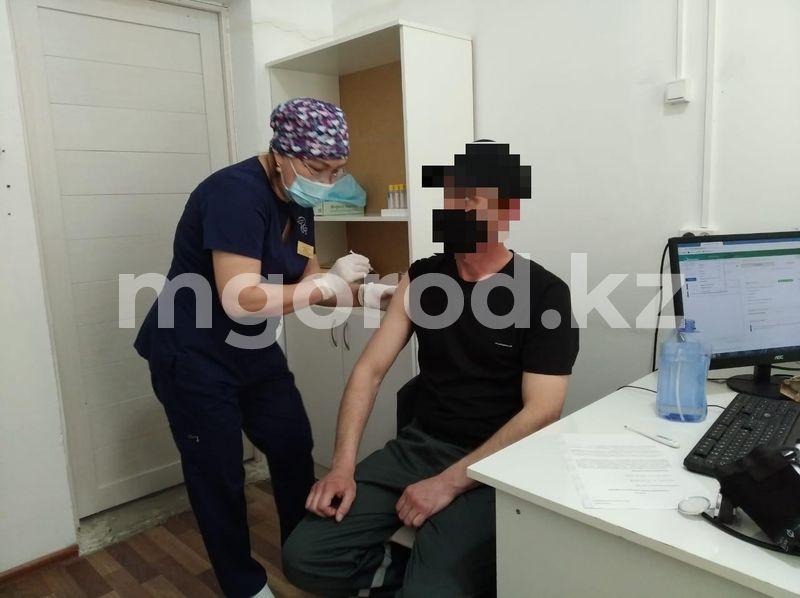 В Атырау осужденные получили прививки от коронавируса В Атырау осужденные получили прививки от коронавируса