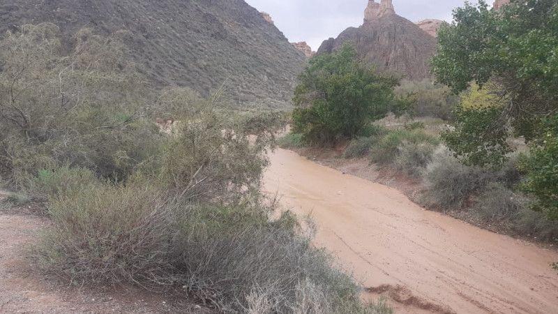 Педагог и школьница погибли при сходе селя в Чарынском каньоне Педагог и школьница погибли при сходе сели в Чарынском каньоне