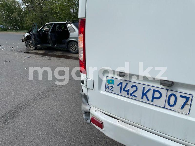 Автомобиль госпиталя департамента полиции ЗКО попал в ДТП Автомобиль госпиталя департамента полиции ЗКО попал в ДТП