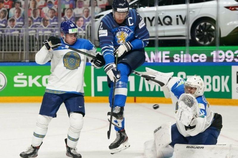 Казахстан впервые в истории обыграл сборную Финляндии по хоккею Казахстан впервые в истории обыграл сборную Финляндии по хоккею