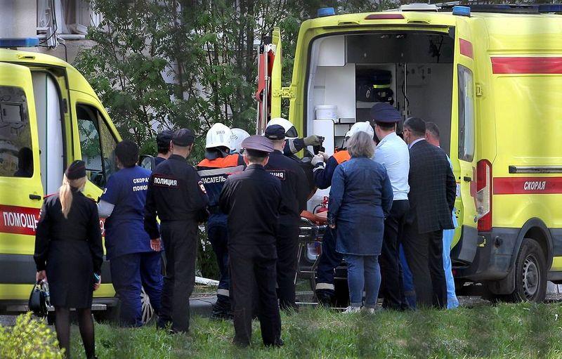 Массовый расстрел в школе Казани. Убитая учительница пыталась спасти учеников Массовый расстрел в школе Казани. Убитая учительница пыталась спасти учеников