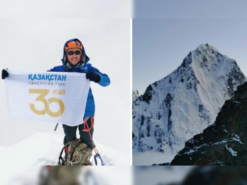 Максут Жумаев покорил пик Лобуче в честь 30-летия независимости Казахстана Максут Жумаев покорил пик Лобуче в честь 30-летия независимости Казахстана
