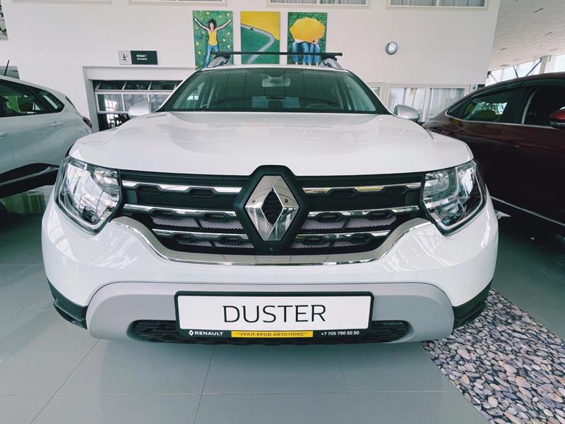 Встречайте! Народный любимец Renault DUSTER второго поколения уже в Уральске Встречайте! Народный любимец Renault DUSTER второго поколения уже в Уральске