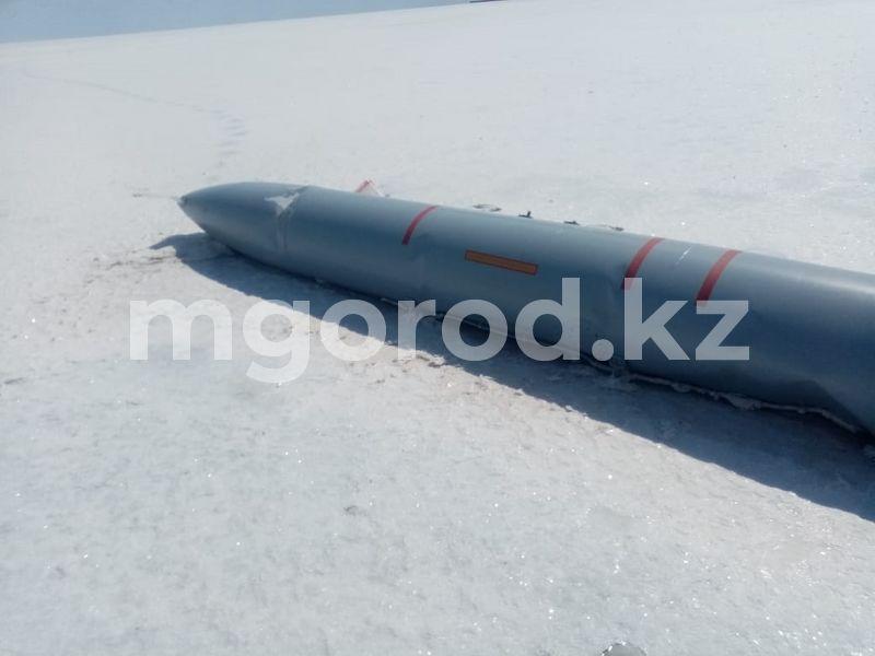 Авиационный снаряд нашли в районе ЗКО (фото) Авиационный снаряд нашли в районе ЗКО (фото)
