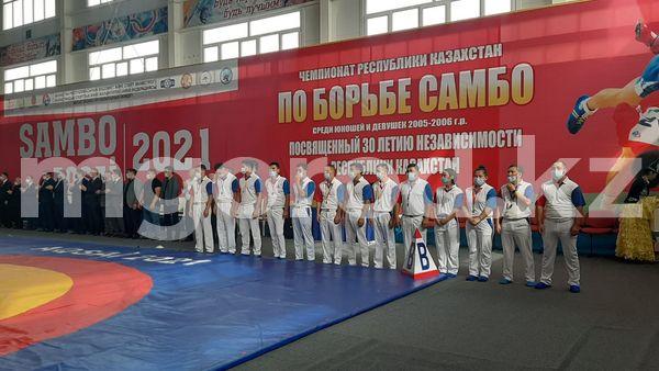 В Аксае начался чемпионат Казахстана по борьбе самбо среди юношей и девушек В Аксае состоялось открытие чемпионата Казахстана по борьбе самбо среди юношей и девушек, в честь 30-летия Независимости страны