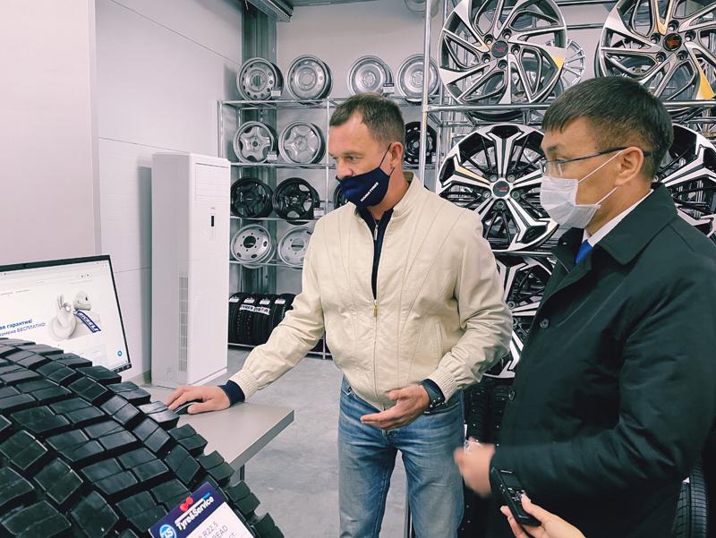 Новый шинный центр Tyre&Service открылся в микрорайоне Уральска Новый шинный центр Tyre&Service открылся в микрорайоне Уральска