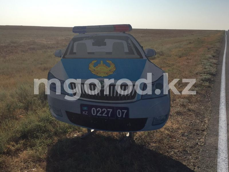 «Полицейскую машину» украли в ЗКО «Полицейскую машину» украли в ЗКО