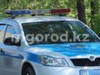 Полицейскую машину украли в ЗКО