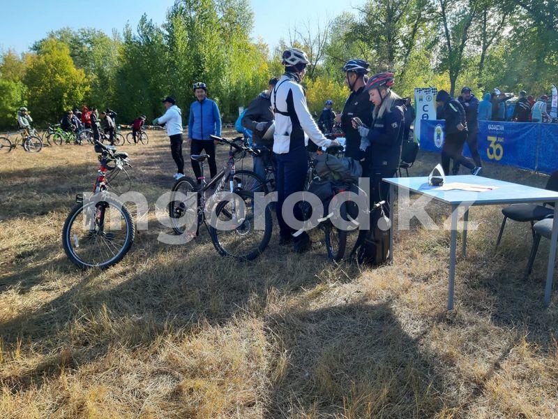 Более 300 жителей Уральска приняли участие в велотреале Более 300 жителей Уральска приняли участие в велотреале